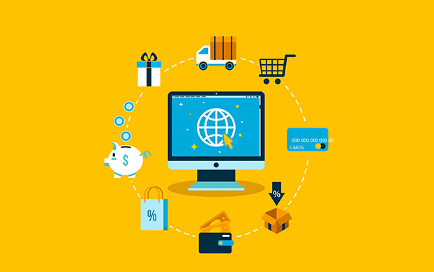 Process of e-commerce business